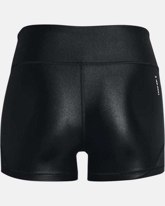 Women's UA HeatGear® Iso-Chill Shorty, Black, pdpMainDesktop image number 5