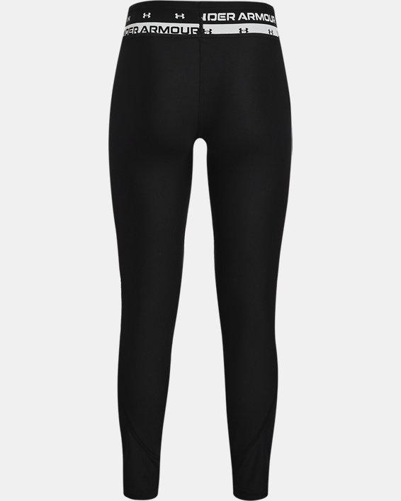 Leggings HeatGear® Armour para niña, Black, pdpMainDesktop image number 1