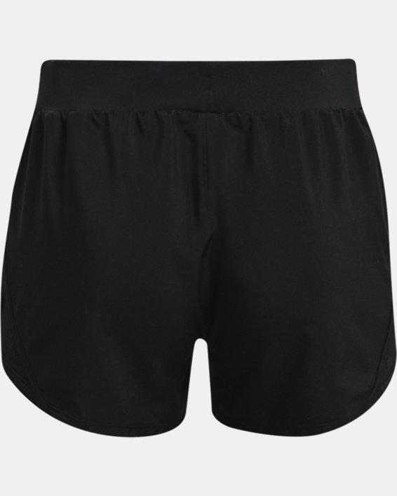 Girls' UA Fly-By Shorts, Black, pdpMainDesktop image number 1