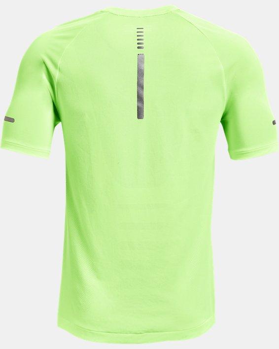 Men's UA Vanish Seamless Run Short Sleeve, Green, pdpMainDesktop image number 5