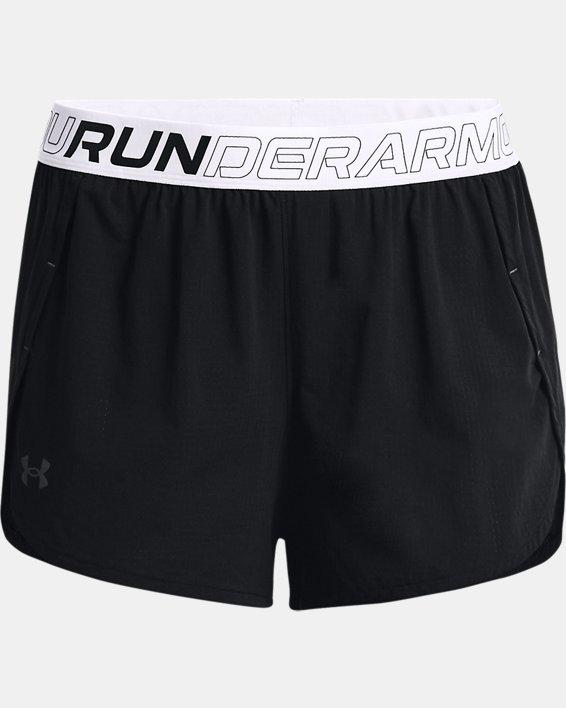 Pantalón corto de running UA Draft para mujer, Black, pdpMainDesktop image number 3