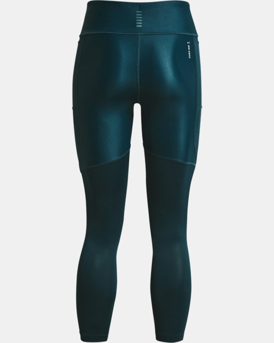 Women's UA Iso-Chill Run 7/8 Tights, Blue, pdpMainDesktop image number 5