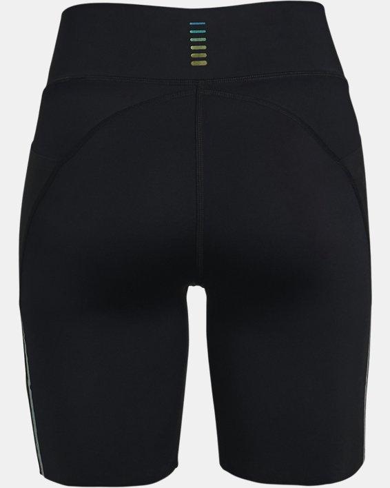 Women's UA RUSH™ Run Pocket Shorts, Black, pdpMainDesktop image number 5