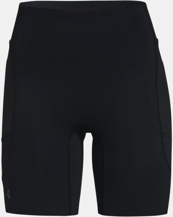Women's UA RUSH™ Run Pocket Shorts, Black, pdpMainDesktop image number 4