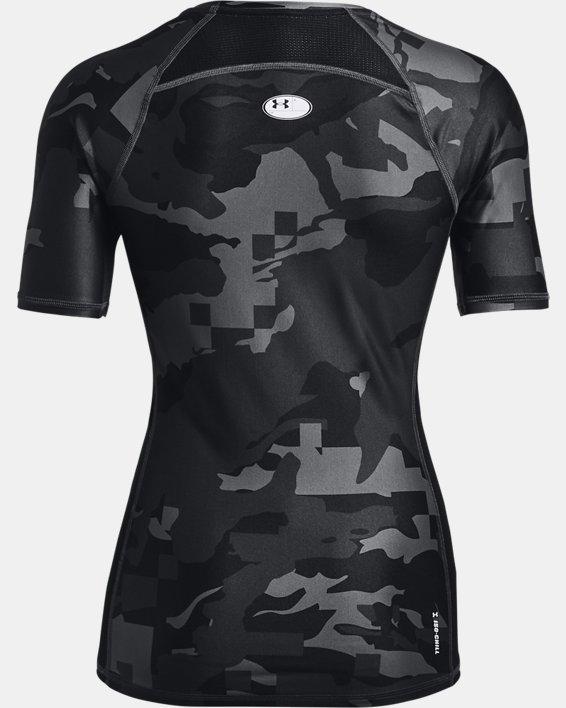 Maglia a maniche corte UA Iso-Chill Compression Team da donna, Black, pdpMainDesktop image number 4