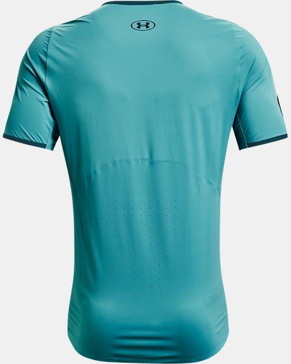 Men's UA Iso-Chill Perforated Short Sleeve, Blue, pdpMainDesktop image number 5