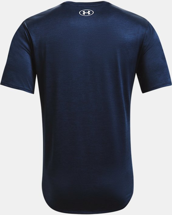 Men's UA Training Vent 2.0 Short Sleeve, Navy, pdpMainDesktop image number 5