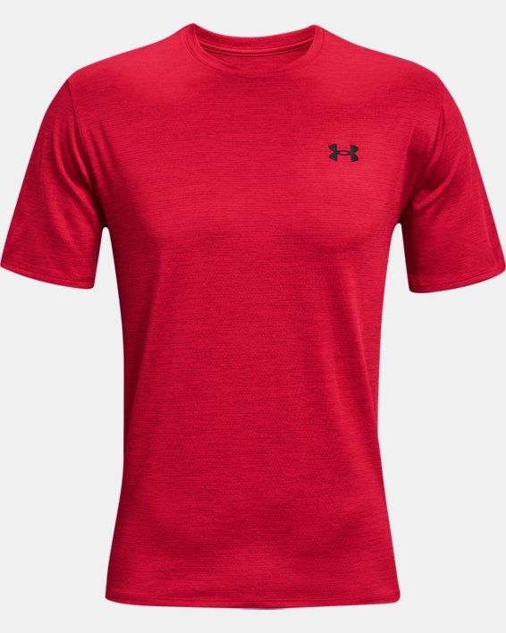 Men's UA Training Vent 2.0 Short Sleeve, Red, pdpMainDesktop image number 4