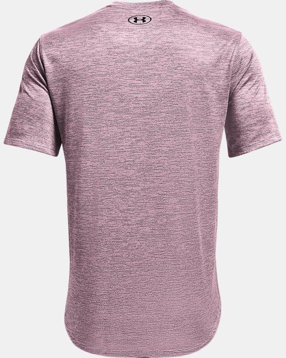 Men's UA Training Vent 2.0 Short Sleeve, Pink, pdpMainDesktop image number 5