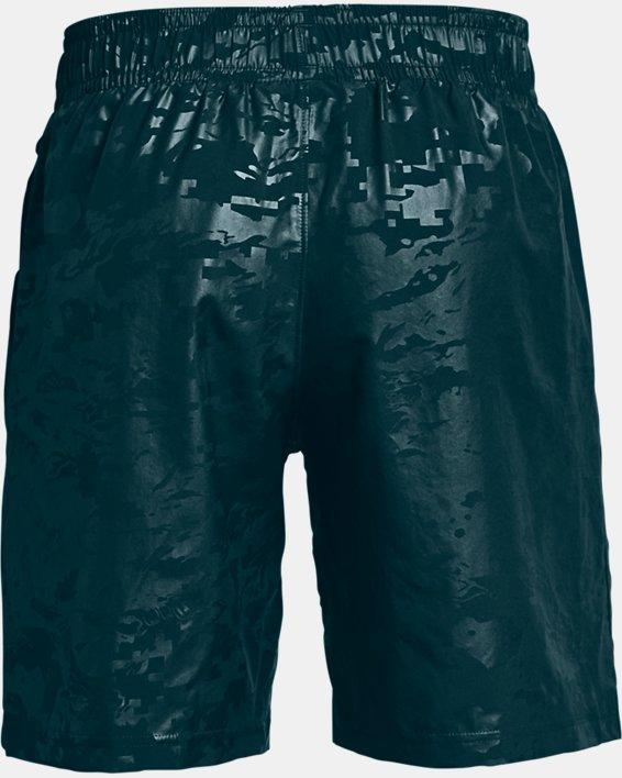 Men's UA Woven Emboss Shorts, Blue, pdpMainDesktop image number 5