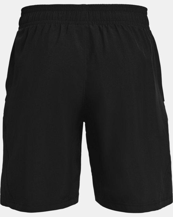 Men's UA Woven Graphic Wordmark Shorts, Black, pdpMainDesktop image number 5