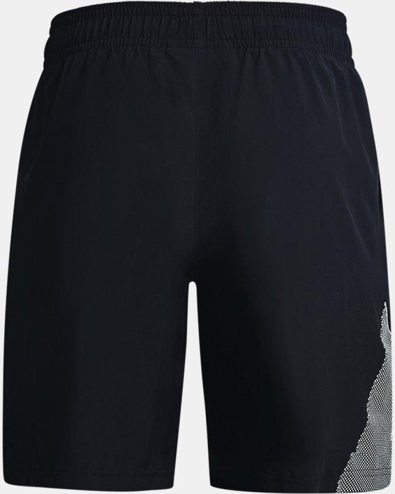 Men's UA Woven Graphic Shorts, Black, pdpMainDesktop image number 5