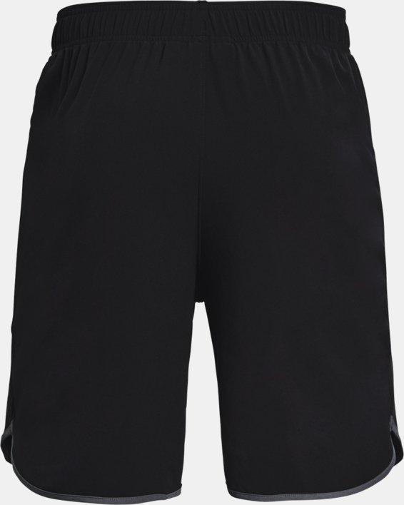 Men's UA HIIT Woven Shorts, Black, pdpMainDesktop image number 5