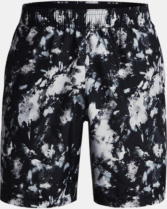 Herren UA Adapt Shorts aus Webstoff, Black, pdpMainDesktop image number 4