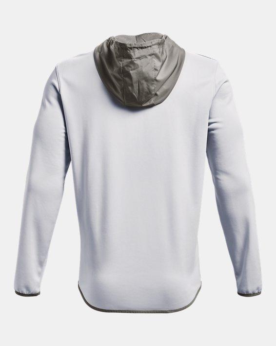 Herren Armour Fleece® Storm Hoodie mit ½ Zip, Gray, pdpMainDesktop image number 6