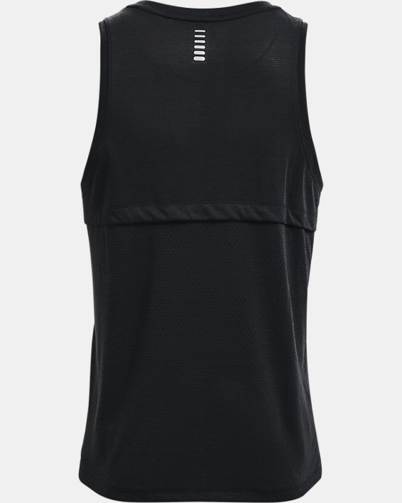 Camiseta UA Streaker Run para hombre, Black, pdpMainDesktop image number 4