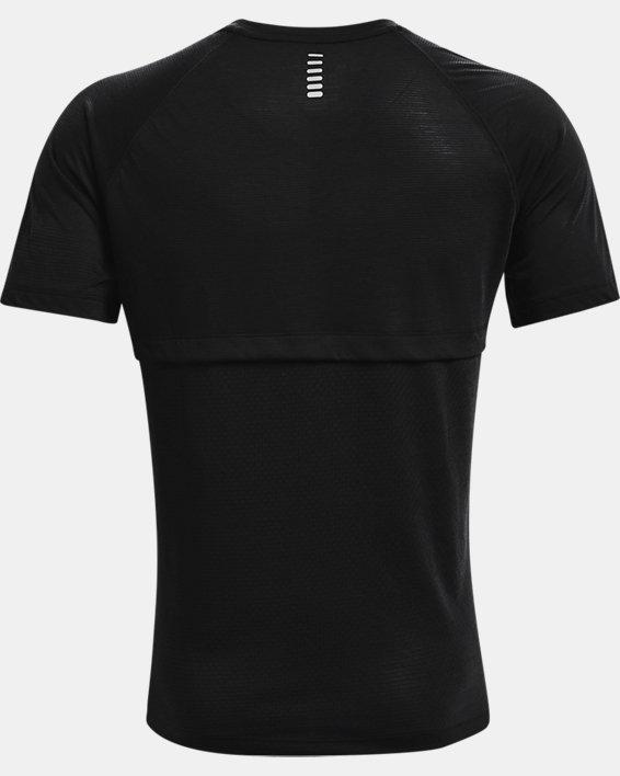 Men's UA Streaker Run Short Sleeve, Black, pdpMainDesktop image number 5