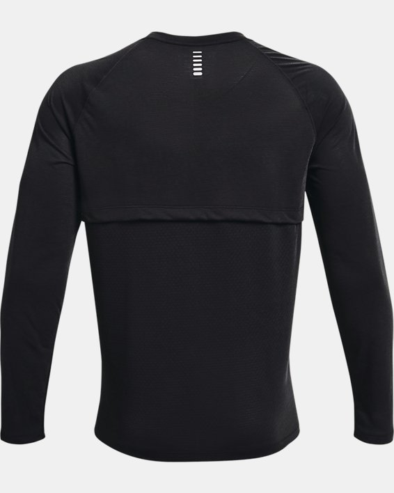 Men's UA Streaker Run Long Sleeve, Black, pdpMainDesktop image number 4