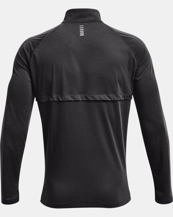 Men's UA Streaker Run ½ Zip, Gray, pdpMainDesktop image number 5