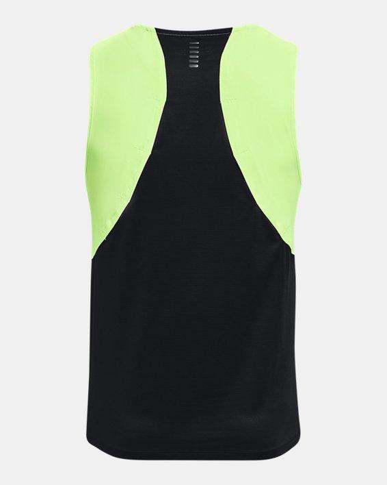 Men's UA Iso-Chill Run Brand Singlet, Green, pdpMainDesktop image number 5