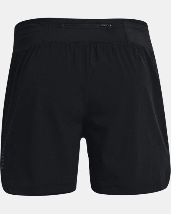 """Men's UA Speedpocket 5"""" Shorts, Black, pdpMainDesktop image number 7"""
