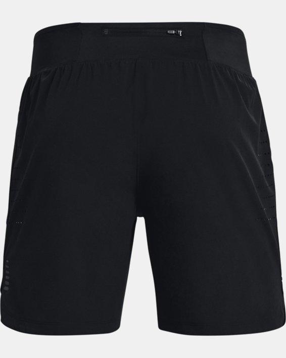 """Men's UA Speedpocket 7"""" Shorts, Black, pdpMainDesktop image number 5"""