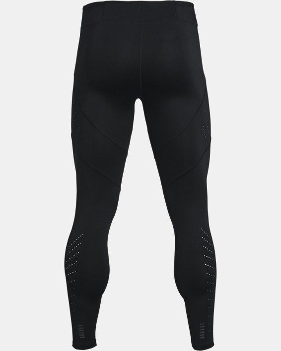 Men's UA Speedpocket Tights, Black, pdpMainDesktop image number 4