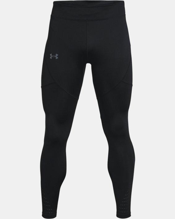 Men's UA Speedpocket Tights, Black, pdpMainDesktop image number 3