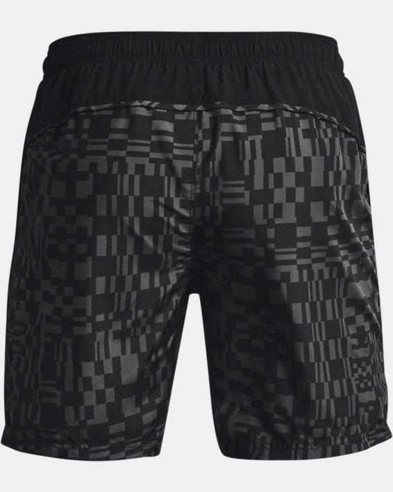 Men's UA Speed Stride Print Shorts, Black, pdpMainDesktop image number 4
