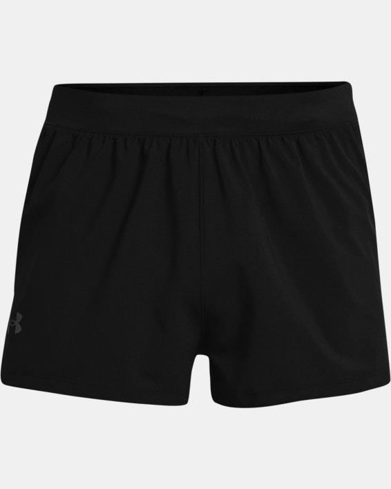 Pantalón corto UA Launch Run Split para hombre, Black, pdpMainDesktop image number 3