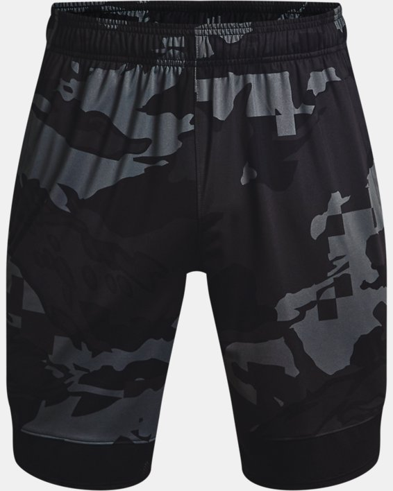 Men's UA Train Stretch Camo Shorts, Gray, pdpMainDesktop image number 4