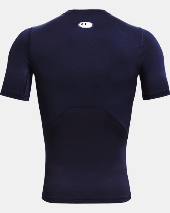 Herren T-Shirt HeatGear® Armour, Navy, pdpMainDesktop image number 4