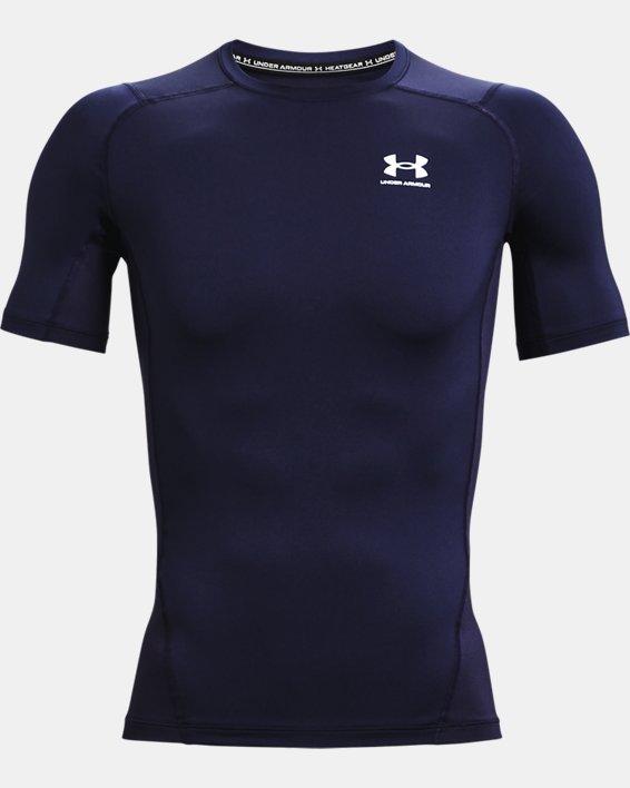Herren T-Shirt HeatGear® Armour, Navy, pdpMainDesktop image number 3