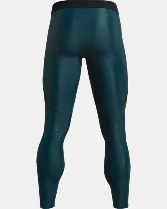 Men's UA Iso-Chill Perforated Leggings, Blue, pdpMainDesktop image number 5