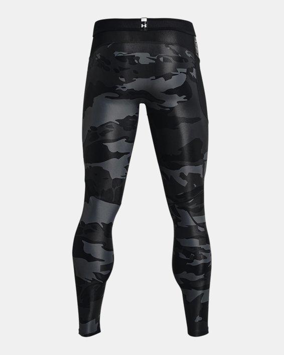 Men's UA Iso-Chill Printed Leggings, Black, pdpMainDesktop image number 5
