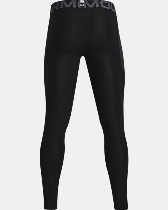 Men's HeatGear® Armour Leggings, Black, pdpMainDesktop image number 5