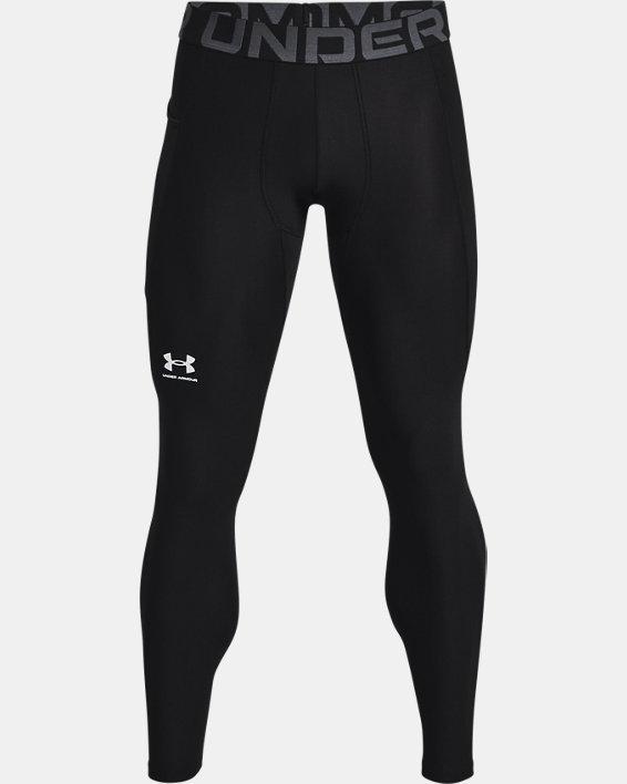 Men's HeatGear® Armour Leggings, Black, pdpMainDesktop image number 4