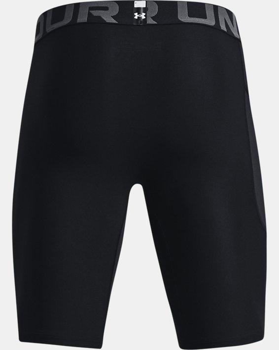 Men's HeatGear® Pocket Long Shorts, Black, pdpMainDesktop image number 6