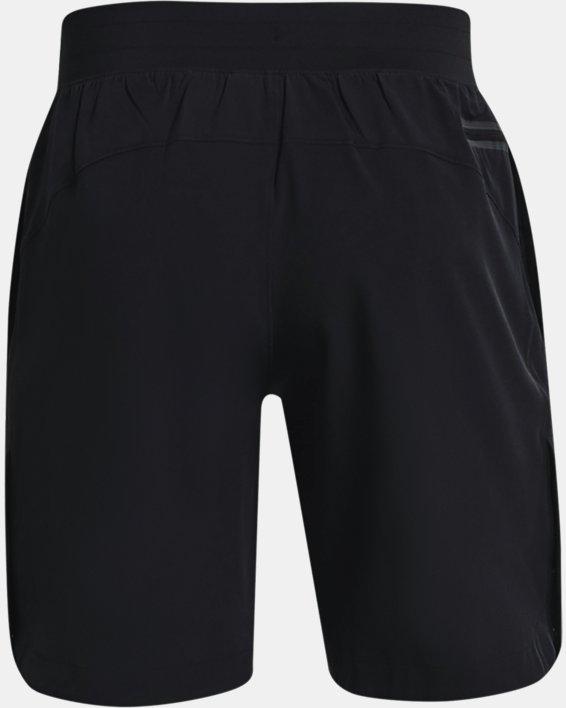 Herren Project Rock Shorts mit Druckknopfleisten, Black, pdpMainDesktop image number 7
