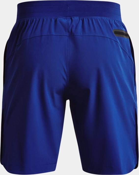Men's Project Rock Snap Shorts, Blue, pdpMainDesktop image number 8