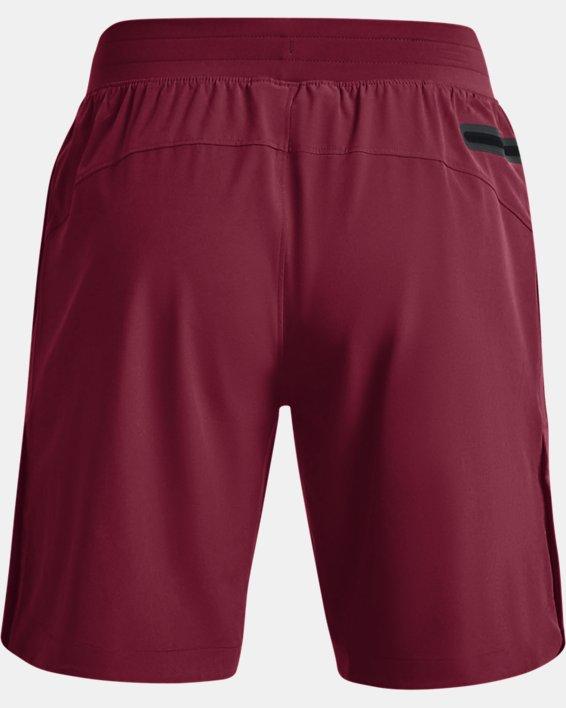 Men's Project Rock Snap Shorts, Red, pdpMainDesktop image number 6