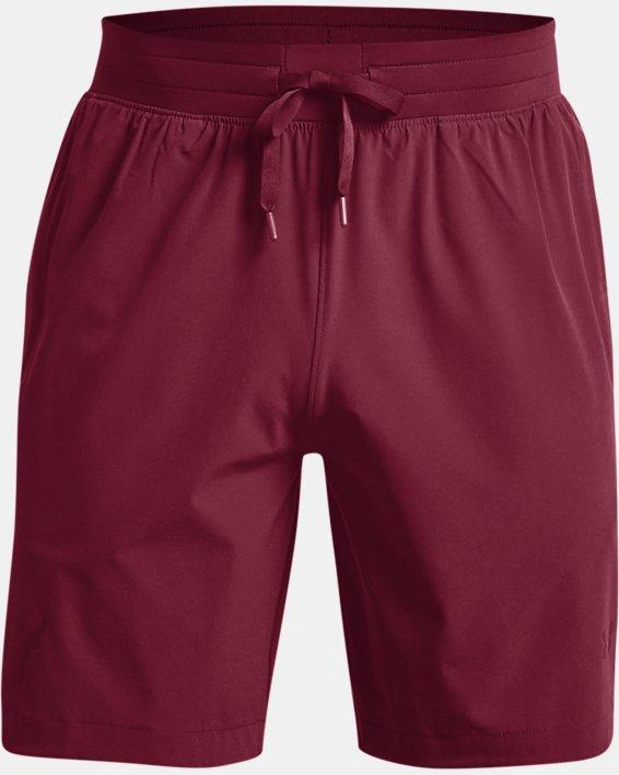 Men's Project Rock Snap Shorts, Red, pdpMainDesktop image number 5