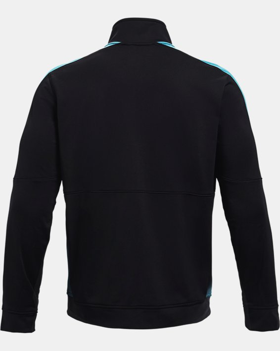 Men's UA Sportstyle Graphic Track Jacket, Black, pdpMainDesktop image number 4