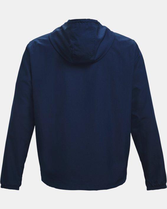 Men's UA Sportstyle Windbreaker Jacket, Navy, pdpMainDesktop image number 5
