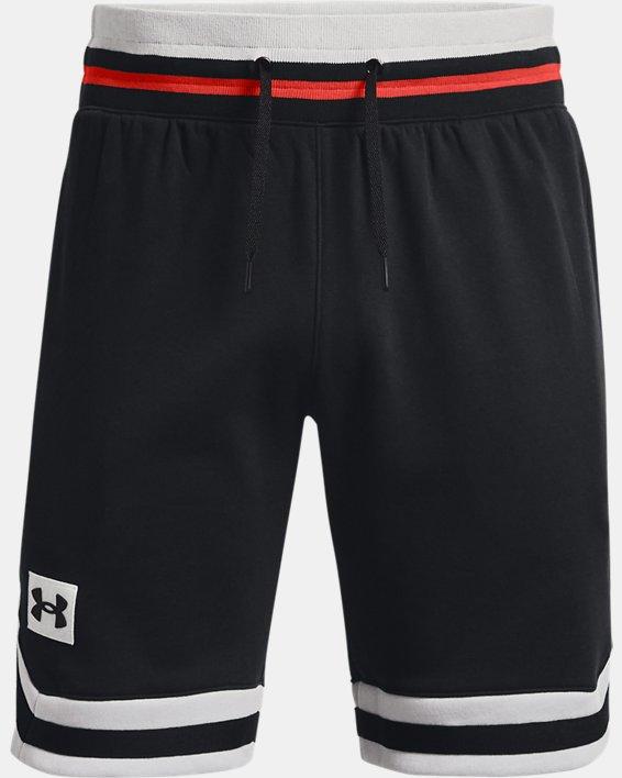 Men's UA Rival Fleece Alma Mater Shorts, Black, pdpMainDesktop image number 4