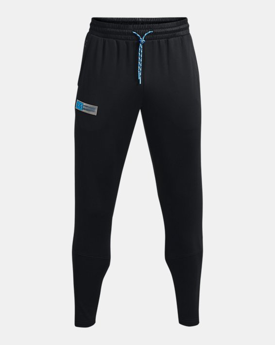 Men's Armour Fleece® Storm Pants, Black, pdpMainDesktop image number 6