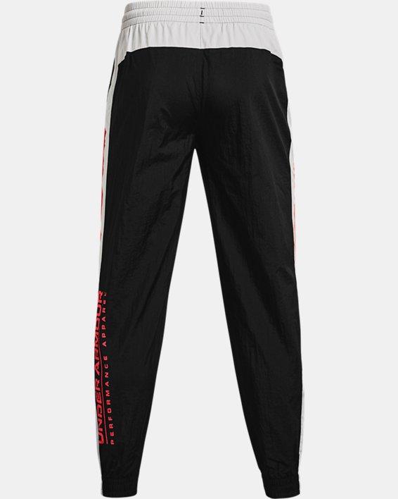 Men's UA Woven Track Pants, Black, pdpMainDesktop image number 5