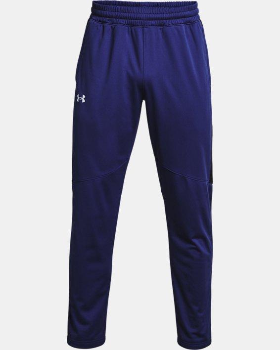 Men's UA Sportstyle Graphic Track Pants, Blue, pdpMainDesktop image number 4