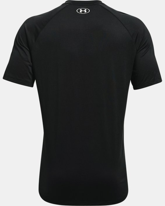 Men's UA Tech™ 2.0 Circuit Short Sleeve, Black, pdpMainDesktop image number 5