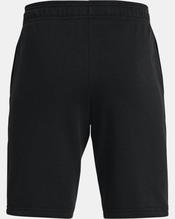 Boys' UA Rival Terry Big Logo Shorts, Black, pdpMainDesktop image number 1
